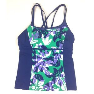 Lands' End Tankini Swim Suit Top
